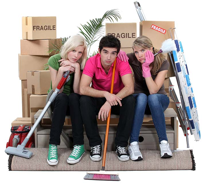 Moving in or Moving Out Can Be Stressful, let us HELP!