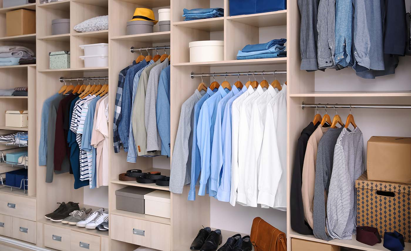 Nicely Organized Closet - Yours Can Look Like This Too!